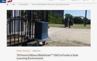 78 Fence Utilizes SlideSmart™ CNX (hysecurity.com)