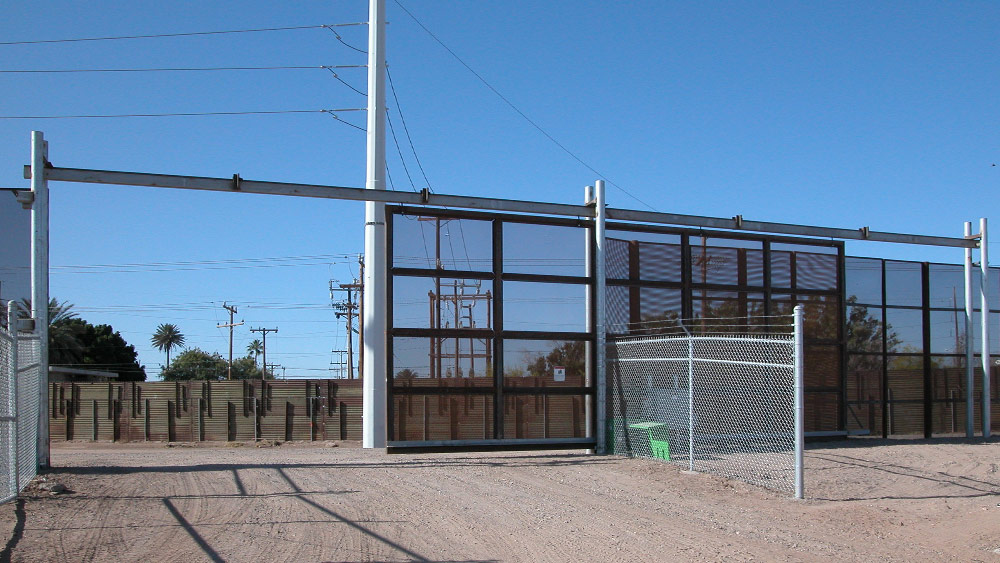 Yuma Arizona Border Fence Gate - 78 Fence
