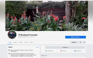 78 Backyard Concepts on Facebook