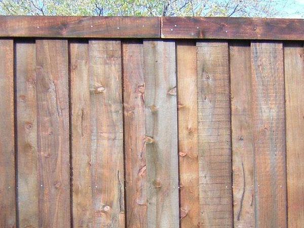 Board On Board Cypress Fence