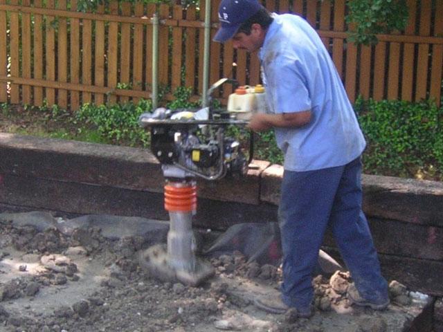 Dirt Tamping