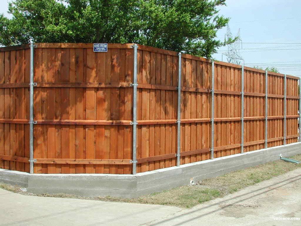 Pool-Safe Cedar Fence