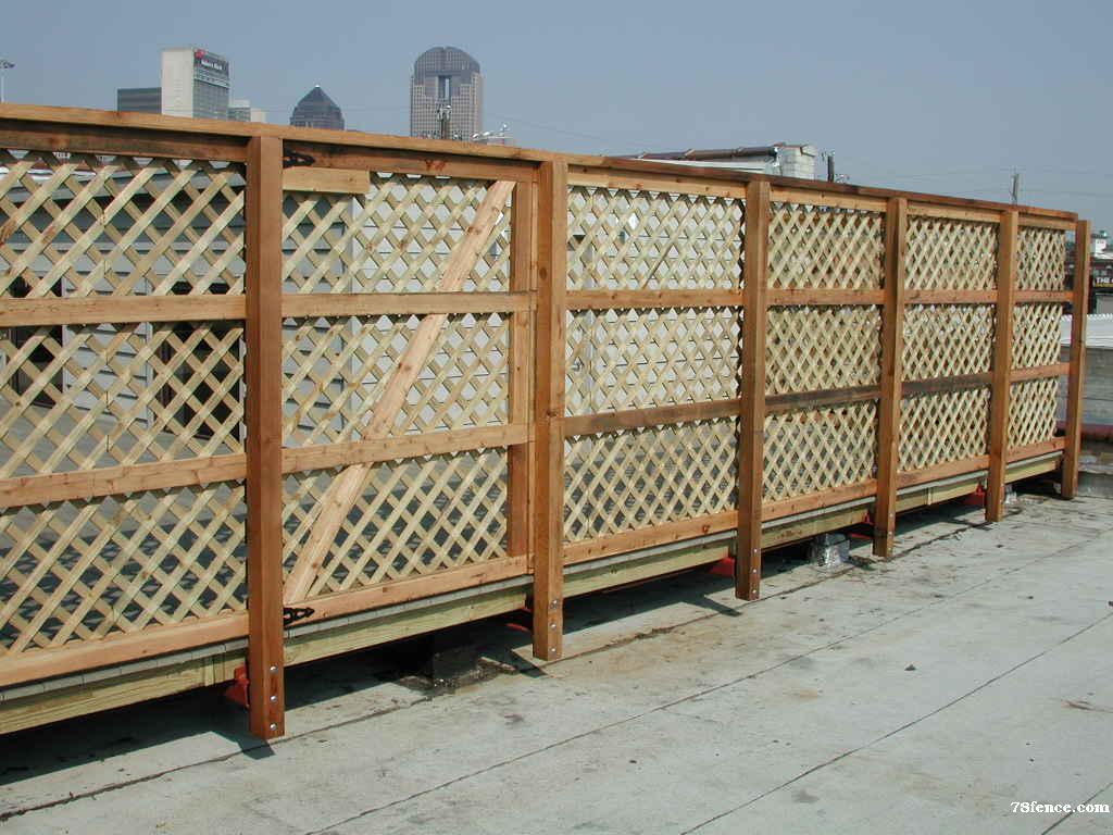 Lattice Deck-Surround