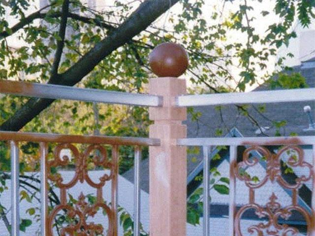 Ornamental Balcony Rail