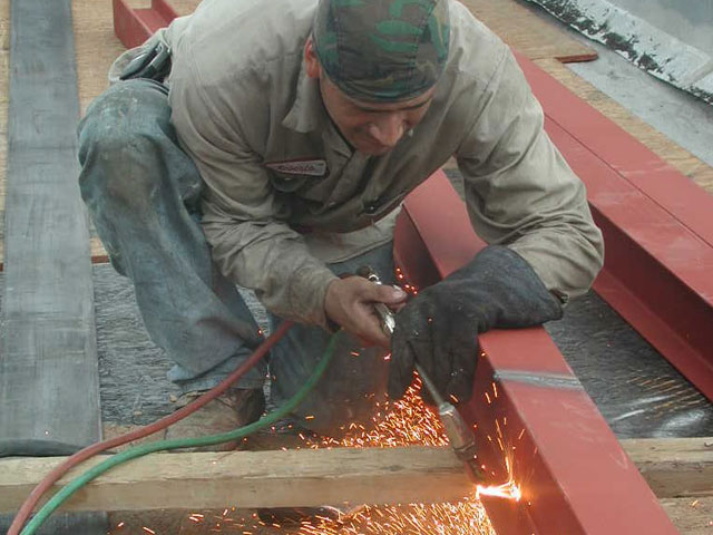 Welding The Beam
